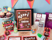 Willy Wonka party theme - thumbnail image